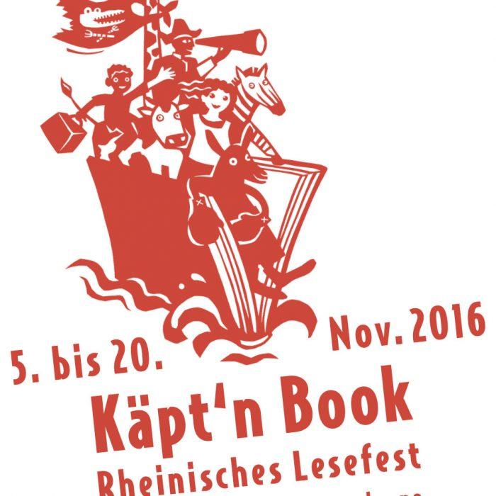 Rheinisches Lesefest – Käpt'n Book 2016