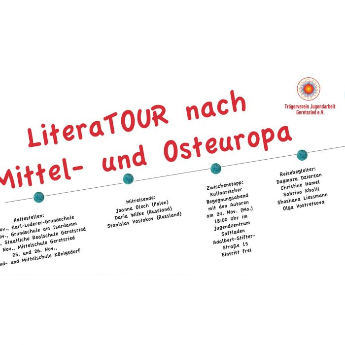 LiteraTOUR nach Mittel- und Osteuropa