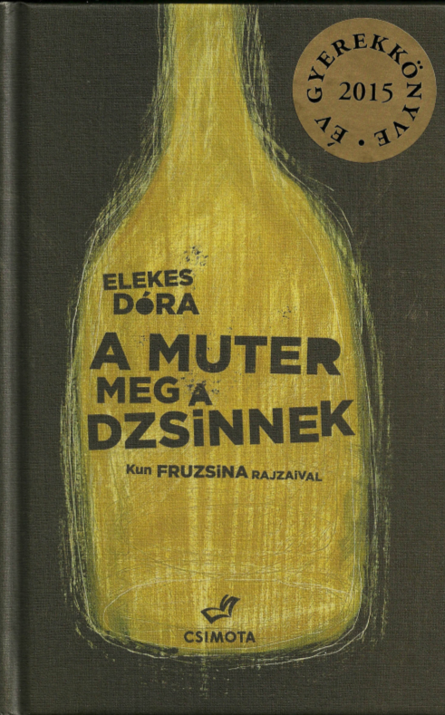 A muter meg a dzsinnek (Mutter und die Dschinn) Book Cover