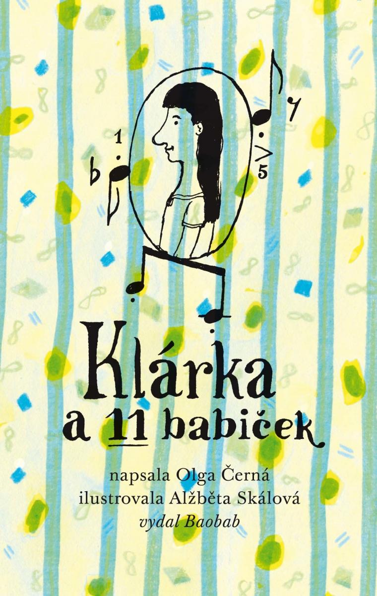Klarka a 11 babiček (Klein-Klara und 11 Omas) Book Cover