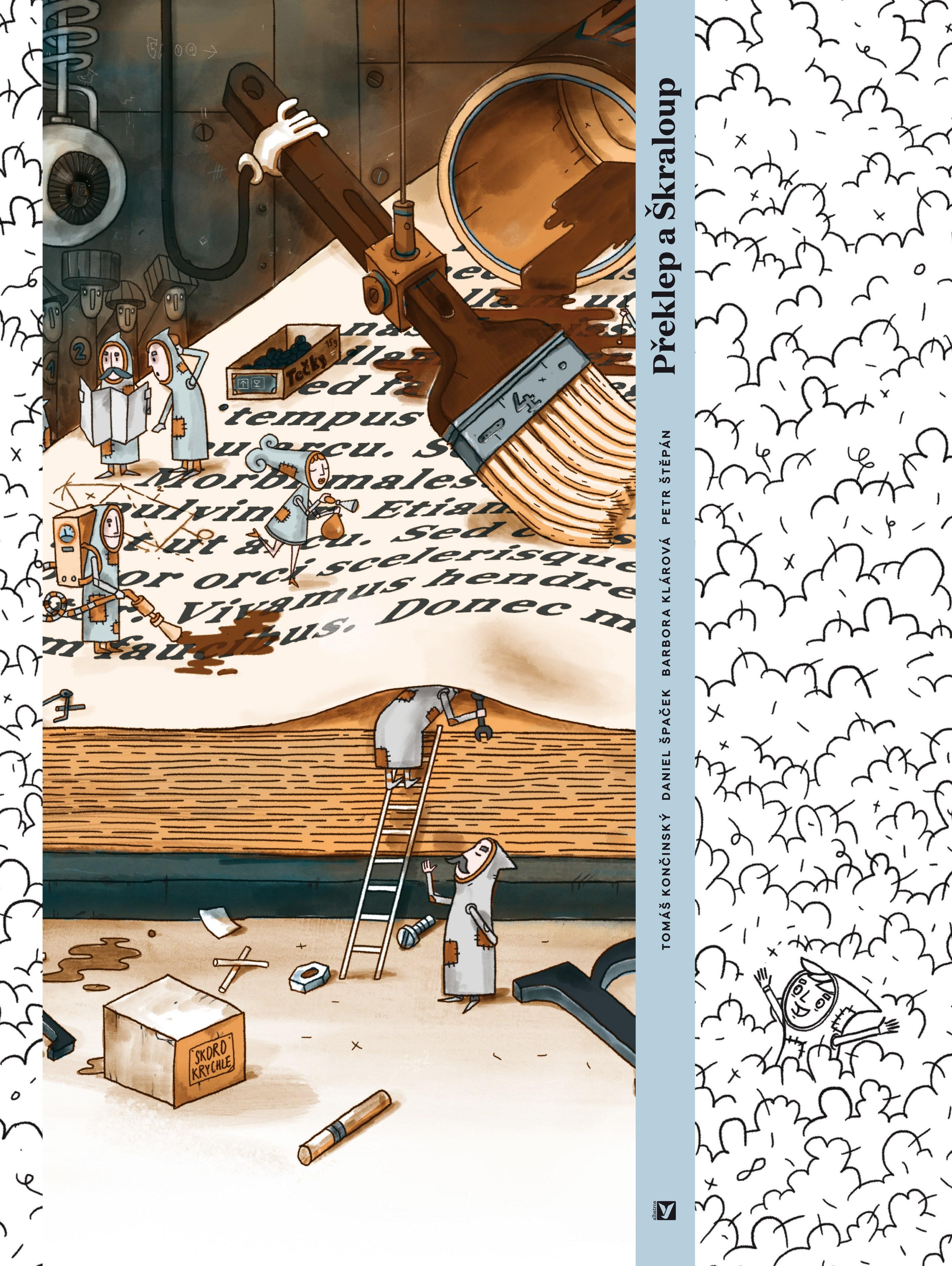 Překlep a Škraloup (Typo und Klecks) Book Cover