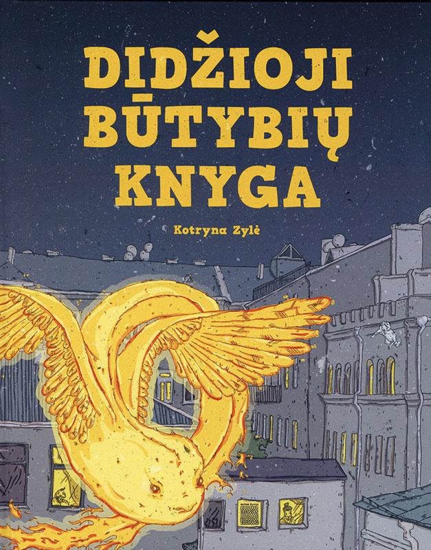 Didžioji būtybių knyga (Das große Buch der Kreaturen) Book Cover