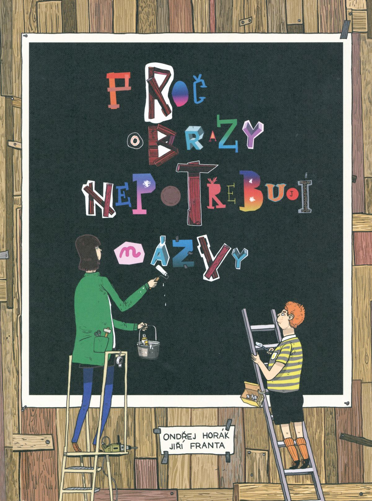 Proč obrazy nepotřebují názvy (Warum Kunst keine Namen braucht) Book Cover