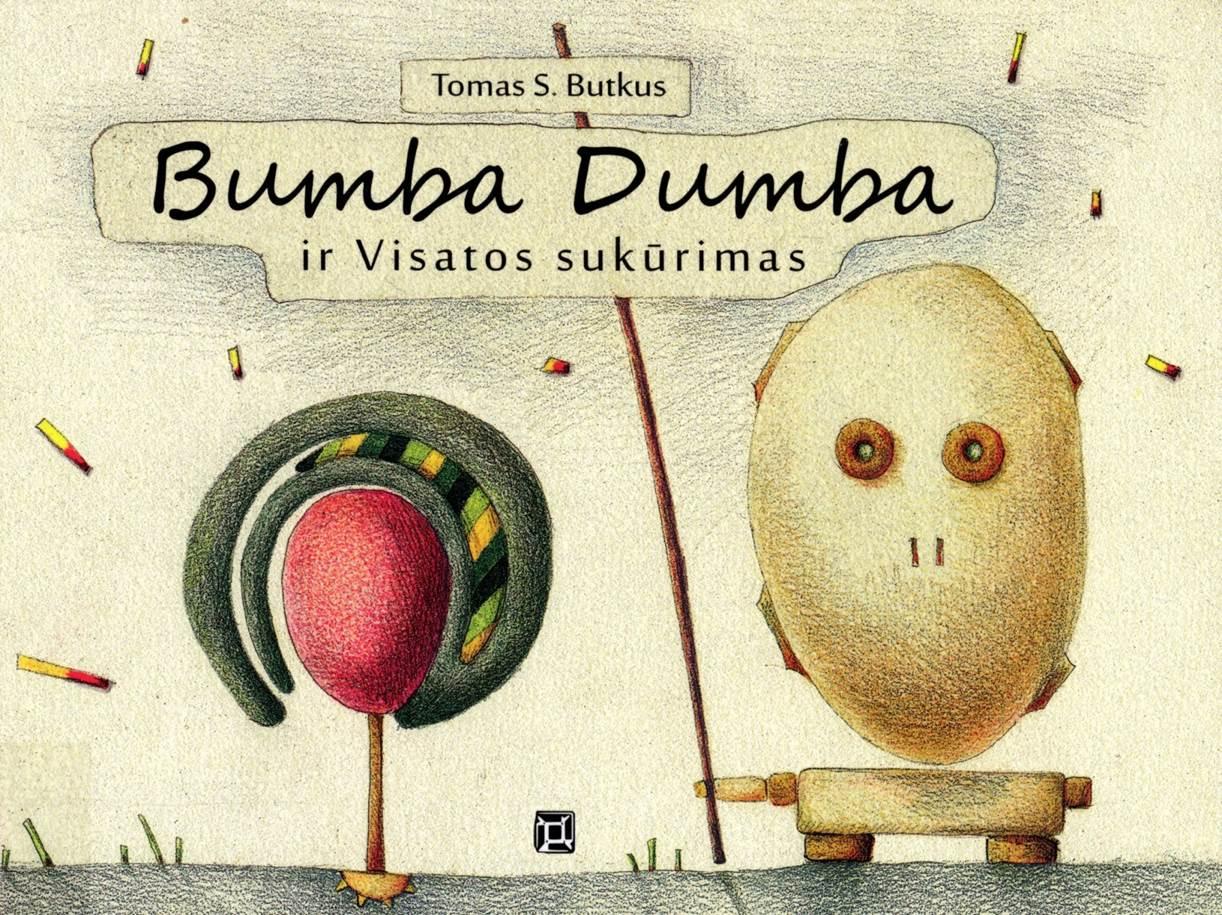 Bumba Dumba ir Visatos sukūrimas (Bumba Dumba und die Erfindung des Universums) Book Cover
