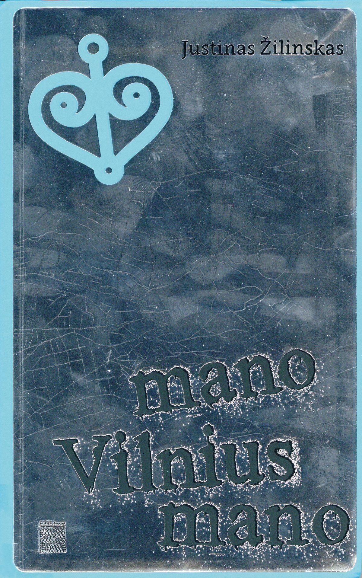 Mano Vilnius mano (Mein Vilnius mein) Book Cover