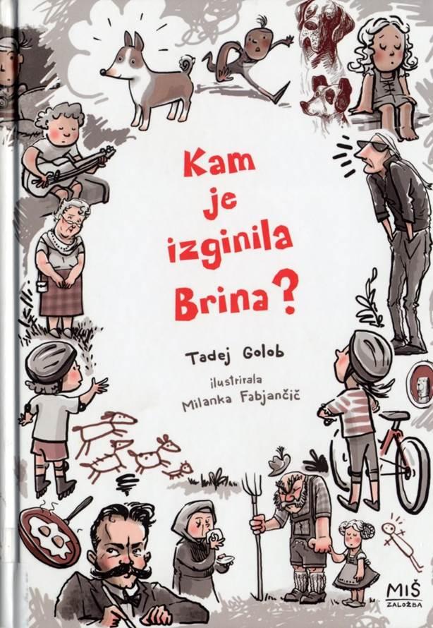 Kam je izginila Brina? (Wohin ist Brina verschwunden?) Book Cover