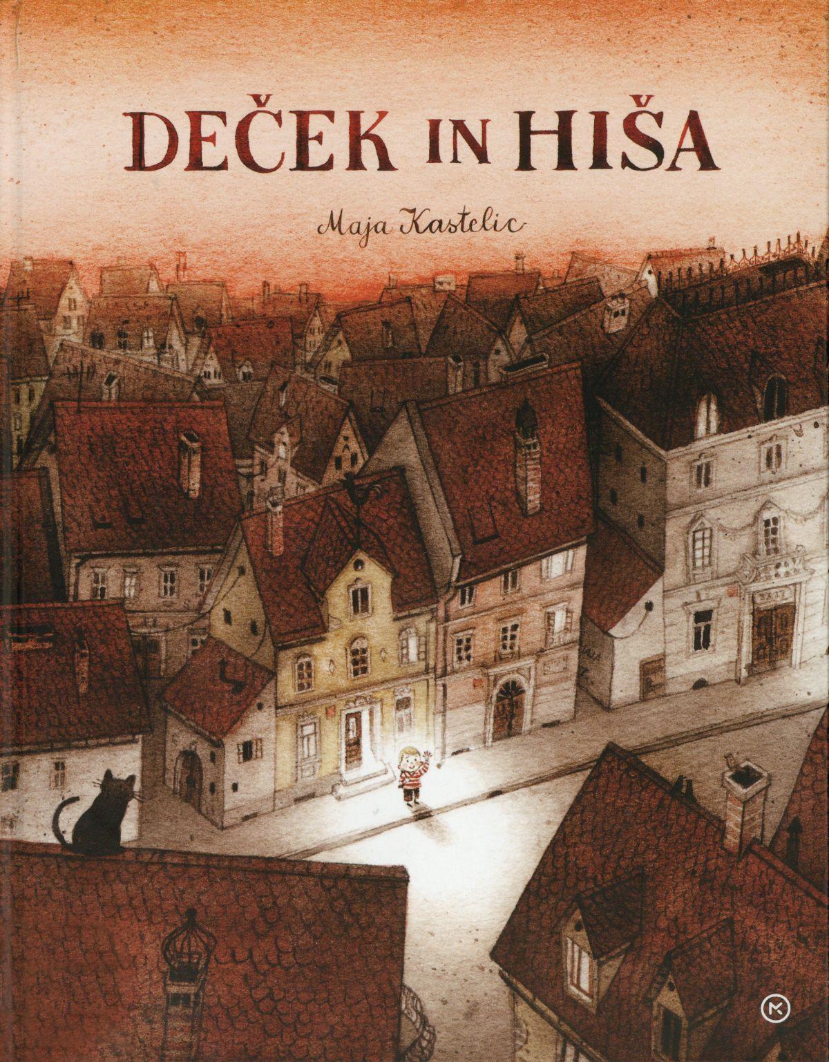 Deček in hiša (Der Junge und das Haus) Book Cover