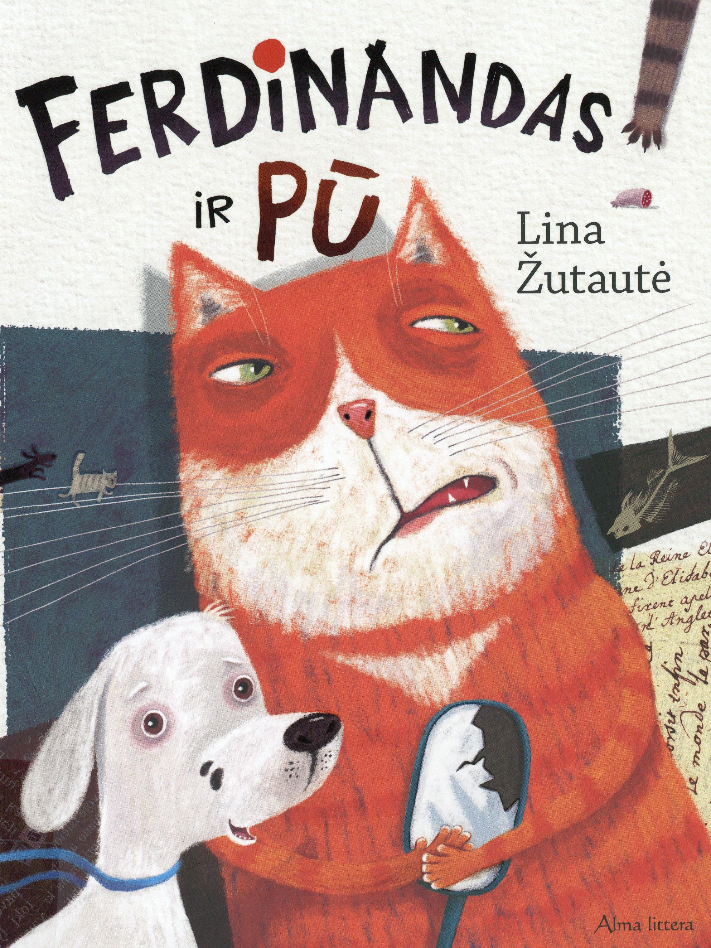 Ferdinandas ir Pū (Ferdinand und Pfote) Book Cover