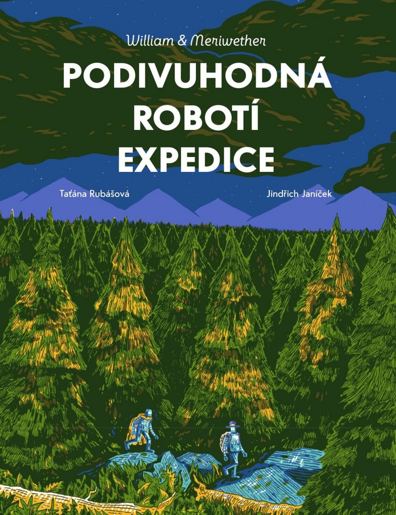 Podivuhodná robotí expedice (Die wunderbare Roboterexpedition) Book Cover
