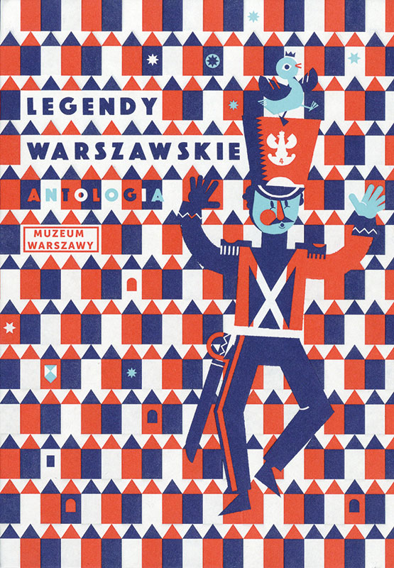 Legendy warszawskie. Antologia (Warschauer Legenden. Anthologie) Book Cover
