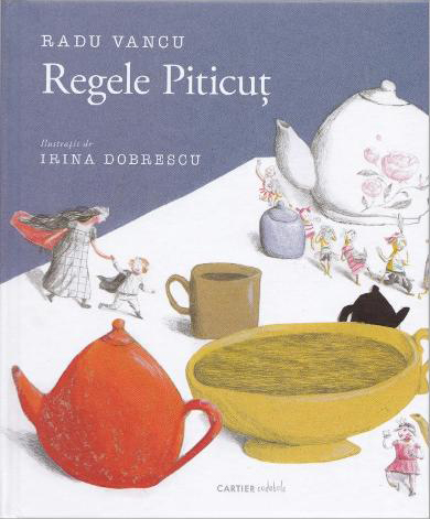 Regele Piticuţ (König Zwerg) Book Cover