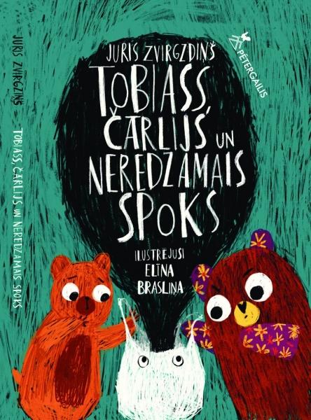 Tobiass, Čārlijs un neredzamais spoks (Tobias, Charlie und der unsichtbare Geisterhund) Book Cover