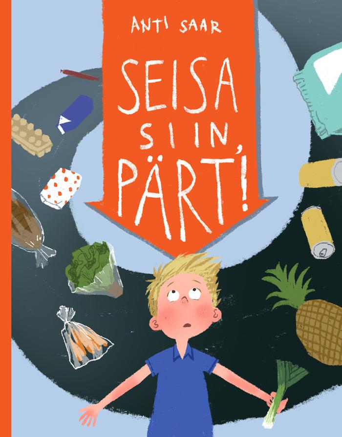 Seisa siin, Pärt! (Bleib stehen, Pärt!) Book Cover