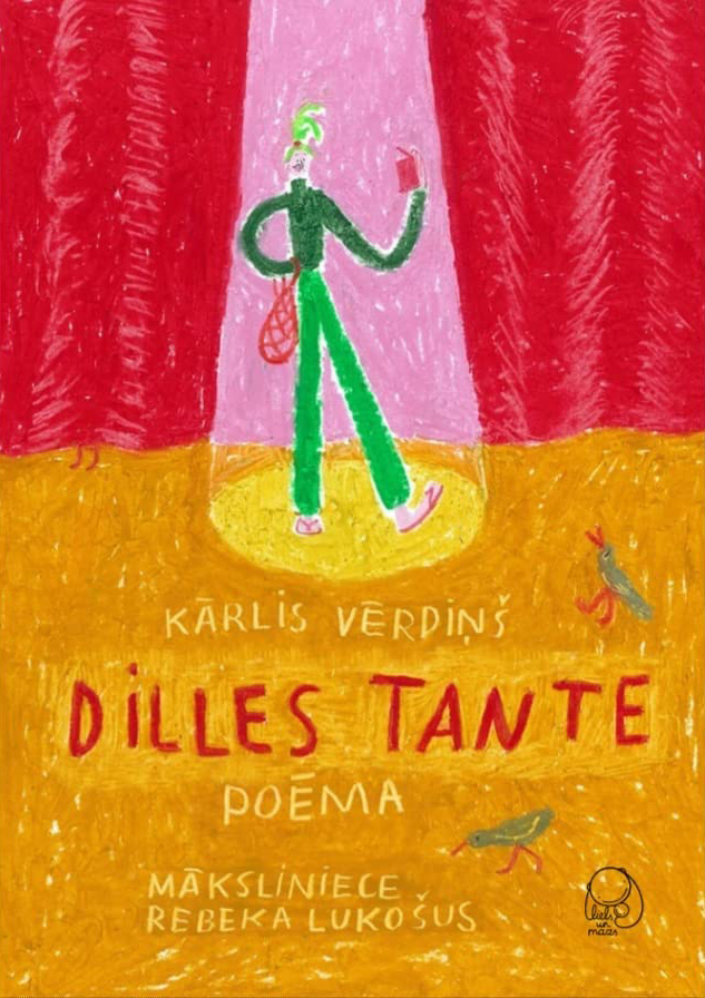 Dilles tante. Poēma (Tante Dille. Ein Gedicht) Book Cover