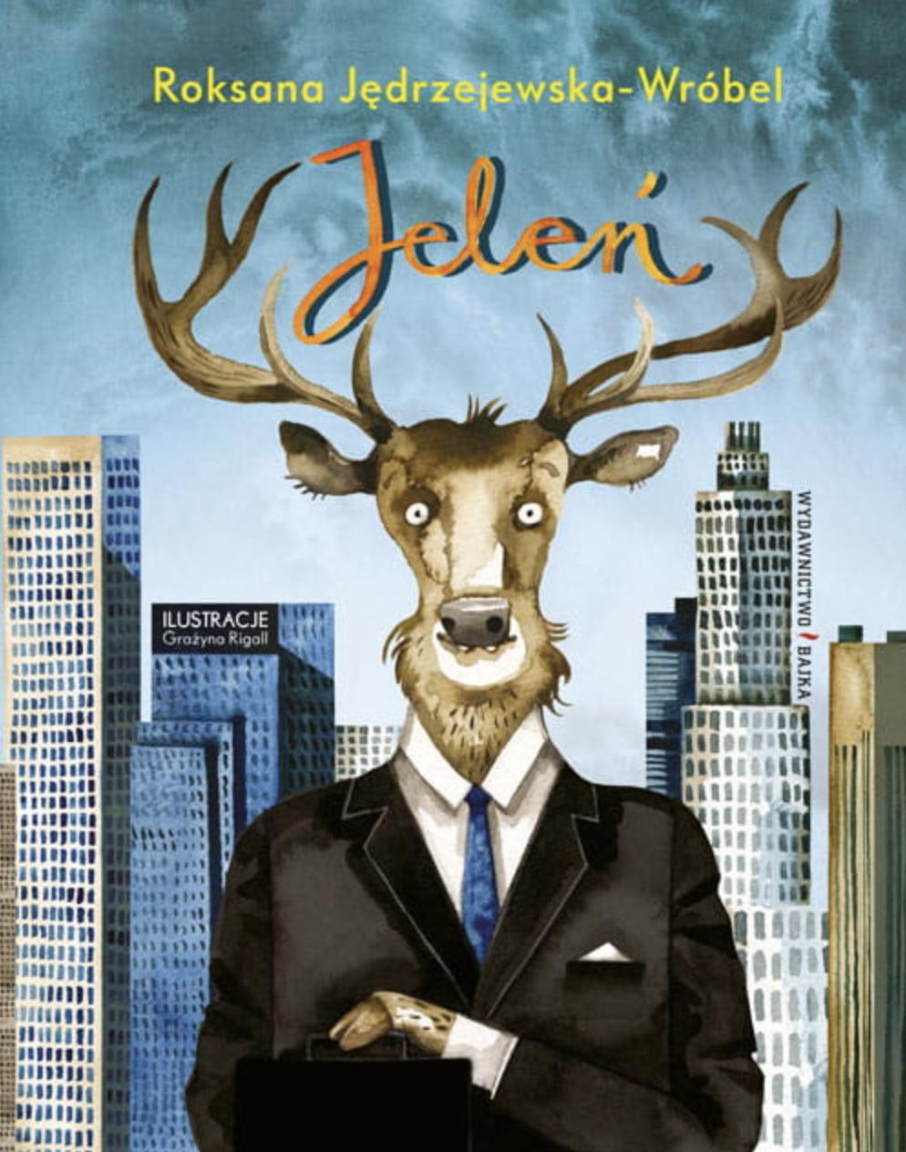 Jeleń (Der Hirsch) Book Cover