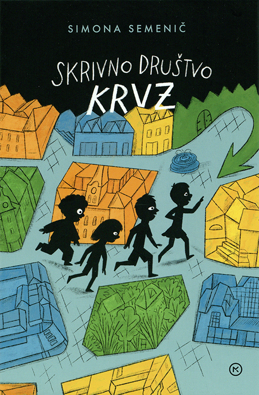 Skrivno družstvo KRVZ (KRVZ Secret Society) Book Cover